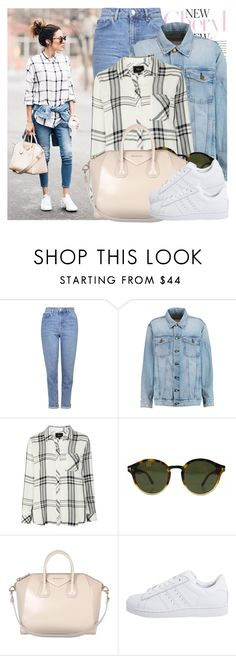 """2195. Blogger Style: Hello Fashion"" by chocolatepumma ❤ liked on Polyvore featuring Topshop, Current/Elliott, Rails, Tom Ford, Givenchy, adidas Originals, women's clothing, women, female and woman"