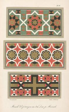 Mosaik-Verzierungen aus dem Dom zu Monreale