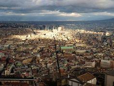 FOTOGRAFIA & SPORT, DI ALFREDO LUONGO : NAPOLI DALL' ALTO