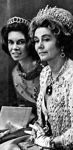 Princesa Irene & Queen Frederica