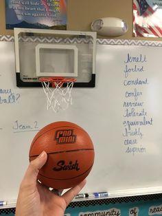 Woordenschat basketbal
