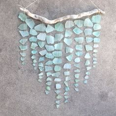 Sea Glass - perhaps hang these from the altar...