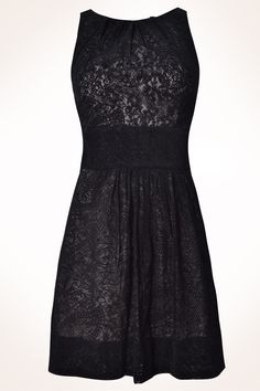 Lace black dress, Dress to. <3