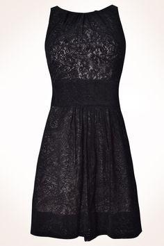 Lace black dress, Dress to. <3