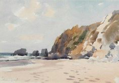 TITLE:	Beach In Portugal  ARTIST:	Edward Seago