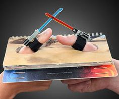 Light Saber Thumb War