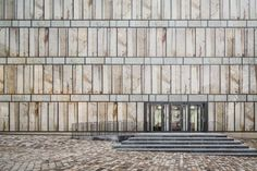 library of folkwang university of arts by max dudler in essen, germany