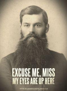 My beard brings all the girls to the yard?