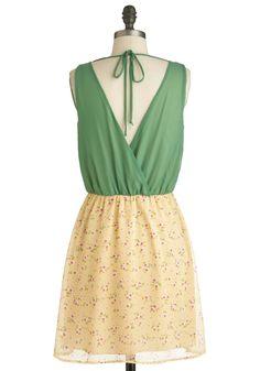 Sprigs to Mind Dress | Mod Retro Vintage Dresses | ModCloth.com