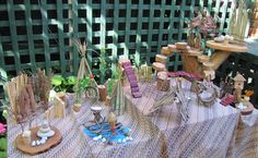 Irresistible Ideas for play based learning » Blog Archive » natural teepees
