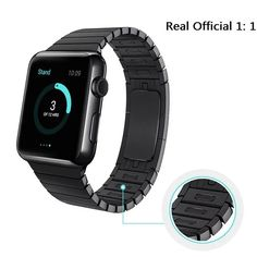 56.09$  Watch here - http://aliejl.worldwells.pw/go.php?t=32664172214 - Free Shipping! 316L Link Bracelet stainless steel Watchband For Apple watch,Original 1:1 Watch Band For Apple Watch Band Link