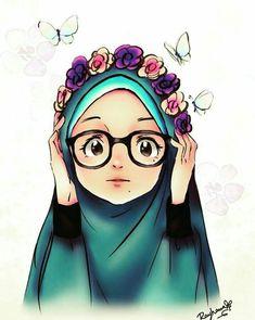 - scarf is Cartoon Girl Drawing, Girl Cartoon, Girl Drawings, Hijab Drawing, Anime Muslim, Muslim Hijab, Islamic Cartoon, Hijab Cartoon, Islamic Girl