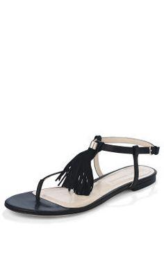 Darla Tassel Sandal Club Monaco