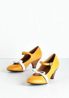 Nothing Short of Sweet Heel in Goldenrod