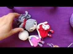 Cabello tejido a crochet