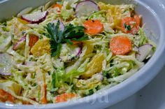 Veganana: Salada de Repolho tipo Coleslaw