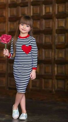 Beautiful young Lady – Serap – Join the world of pin Mommy And Me Outfits, Little Girl Outfits, Little Girl Fashion, Little Girl Dresses, Toddler Fashion, Kids Fashion, Cute Outfits, Dresses Kids Girl, Girls