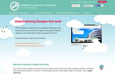 Optimind Technology - Professional SEO company to boost your traffic, award-winning web design and digital marketing campaigns that bring in more sales. http://www.findwa.com/best-webagency/optimind-technology/