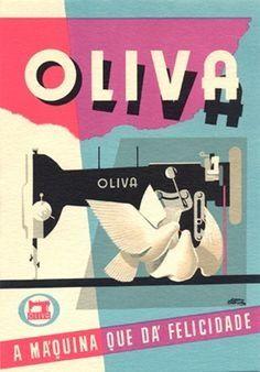 máquinas de costura Oliva