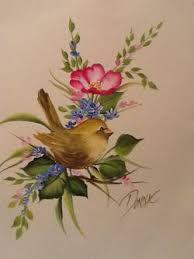 Resultado de imagen para one stroke painting birds