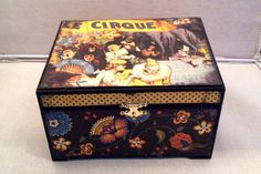 Le Cirque Trinket Box by dragonflydreams59 on Etsy, $25.00