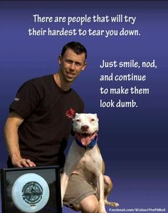 Proving Haters Wrong.  Love Wallace The Pitbull.