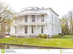 white victorian houses | Stock Images: White Victorian House