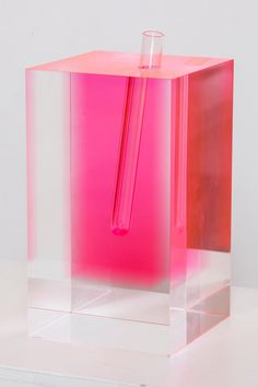 Shiro Kuramata Acrylic Vase