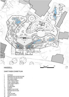 Adelaide Zoo Giant Panda Forest / Hassell floor plan