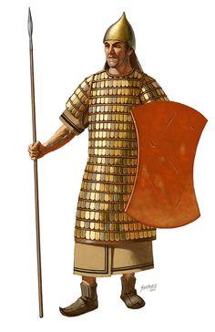 -1200 Hittite Charioteer, c. 1200 BC, Johnny Shumate.