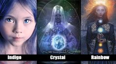 Are You an Indigo, a Crystal or a Rainbow Child? - This Test Will Tell You - http://themindsjournal.com/are-you-an-indigo-a-crystal-or-a-rainbow-child/