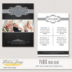 Wedding Price List Template  Price List Templates And Wedding