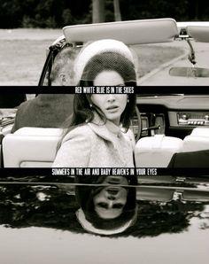 Lana del Rey. National Anthem