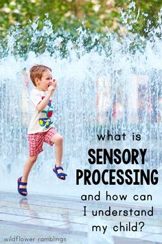 What is sensory processing and how can I understand my child? - Wildflower Ramblings