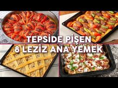 Kalabalık Sofraların Vazgeçilmezi Olacak Tepside Pişen 8 Leziz Ana Yemek Tarifi - Yemek Tarifleri - YouTube Turkish Recipes, Homemade Beauty Products, Sweet And Salty, Iftar, Main Meals, Main Dishes, Health Fitness, Cooking Recipes, Pasta