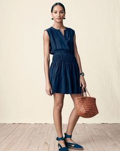 The J.Crew 30-second outfit. Less time getting dressed, more time having coffee.