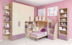 Camerette Mondo Convenienza 2017 (Foto 8/40)   Designmag Kitchen Room Design, Kids Room Design, Baby Bedroom, Girls Bedroom, Kitchen Under Stairs, Frozen Bedroom, Building Renovation, Sofa Design, House Styles