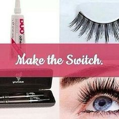 Stop using false lashes!  This product kicks its butt! www.enhancemylashes.com
