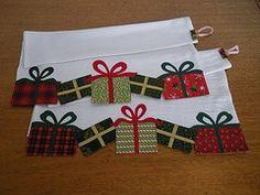 Pacotes de presente (Patchrosa) Tags: christmas natal patchwork panodeprato pacotinhos patchrosa