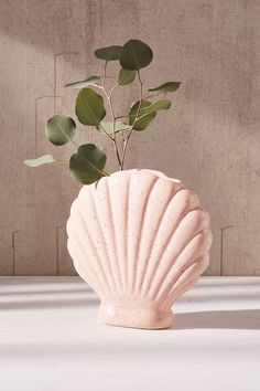 Shop Shell Vase at Urban Outfitters today. We carry all the latest styles, colors and brands for you to choose from right here.