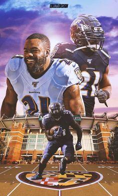 Mark Ingram on Behance Black Football Players, Football Art, Ravens Players, Football Pictures, Fighting Irish, Baltimore Ravens, Notre Dame, Galaxy Wallpaper, Athletics