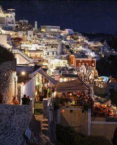 Santorini thira Yunanistan
