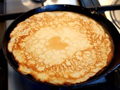 Make your own pancake batter for light pancakes - Cooking idea - Make your own pancake batter for nice and light pancakes - Sweet Recipes, Healthy Recipes, Tasty Pancakes, Cooking With Kids, Baking Recipes, Breakfast Recipes, Party, Brunch, Food And Drink