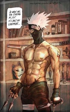 Kakashi Hatake - Naruto