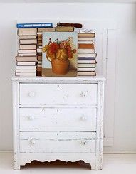 paint an old chest white