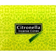Kamini Incense Cones - Citronella - The Hippie House Citronella Essential Oil, Essential Oils, Hippie House, Incense Cones, Fragrance, Mosquitoes, Make It Yourself, Reduce Stress, Box