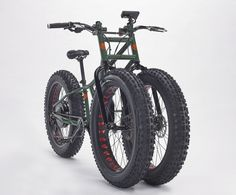 When two fat tyres aren't enough. Get three with the Rungu electric (or not)…