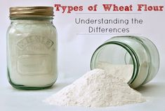 Types of Flour - Understanding Different Wheat Flours - Five Little Homesteaders