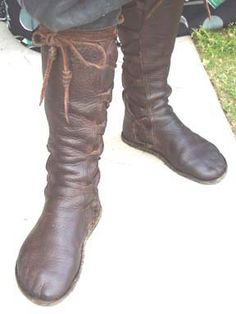 my mother had a pair of these custom-made handmade boots, with indian head nickels for buttons up the side. she wore them with an embroidered sheepskin coat