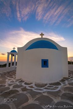 Chapel of Saint Haralabos by Christos Petalas on Greece Kos, Greece Islands, Athens Greece, Santorini, Mykonos, The Beautiful Country, Beautiful Places, The Places Youll Go, Places To Go